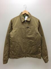 中綿入りジャケット/M/ポリエステル/カーキ/0133504