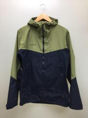 Convey Tour HS Hooded Jacket/M/ポリエステル/オリーブ×ネイビー