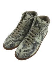 Dollar Printed Sneakers/ジャーマントレーナー/40/ホワイト/S57WS0182