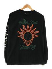 TOKEN/プリントTEE/長袖Tシャツ/M/コットン/ブラック