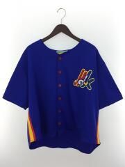 ベースボールシャツ/MS-181-019/M/ポリエステル/IDG/18SS