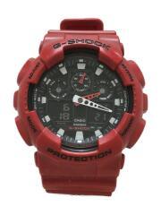 クォーツ腕時計・G-SHOCK/デジアナ/RED/5081