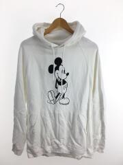 パーカー/フーディ/スウェット/44/コットン/白/sc.0037bSS20/Mickey Mouse/ミッキー