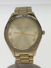 クォーツ腕時計/アナログ/--/GLD/GLD