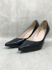 patent leather/パテントレザー/ヒールパンプス/ブラック/サイズ6J/D24621