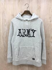 パーカー/ARMY/ショーンフォントロゴ/S/コットン/グレー/ショーンフォントロゴ/ARMY