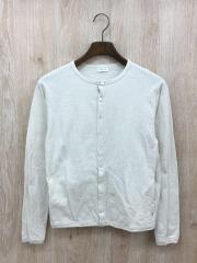 クルーネックカーディガン/RC-9220/カーディガン(薄手)/1/コットン/ホワイト/