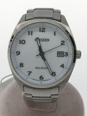 クォーツ腕時計/アナログ/ソーラー腕時計/ECO DRIVE/ステンレス/シルバー