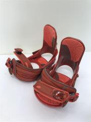 スノーボードバインディング/M/RED