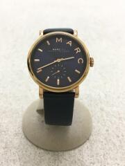 腕時計/アナログ/NVY/NVY/MBM1329