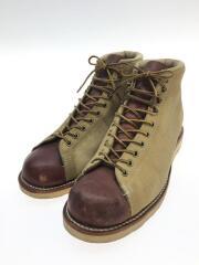 ブーツ/US8.5/BEG/スウェード