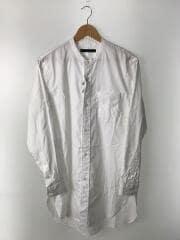 BAND COLLAR LONG SHIRT/バンドカラー/長袖シャツ/3/コットン/WHT