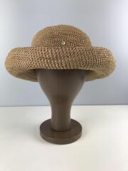 ストローハット/raffia/made in madagascar/麦藁帽