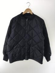 DIAMOND NYLON QUILTED FLIGHT JACKET/ブルゾン/M/ナイロン/NVY