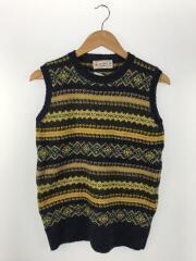 shetland woollen co/ニットベスト(厚手)/ウール