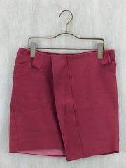 スカート/4/コットン/RED