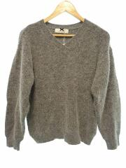 セーター(厚手)/M/ナイロン/GRY/164-OP007