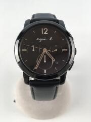 クォーツ腕時計/アナログ/レザー