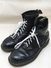 ブーツ/US8/ブラック/レザー