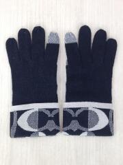 手袋/ウール/ブラック