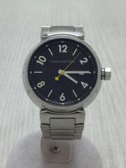 クォーツ腕時計/アナログ/ステンレス/BRW/SLV