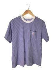Tシャツ/--/コットン/BLU/ボーダー/2018年model/#18S-HS-003