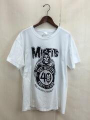MISFITS/ミスヒッツ/Tシャツ/XL/コットン/白/ホワイト//バンド/バンTee/フロントプリント