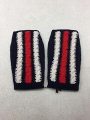 手袋/ウール/ネイビー/紺/BRAIDWEB/フィンガーレス/ニット/タグ付