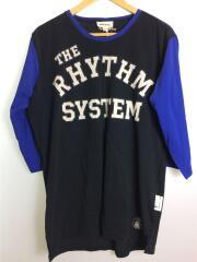 Tシャツ/XL/コットン100%/ブラック/黒/ロゴプリント/相場、年代考慮/フロントプリント