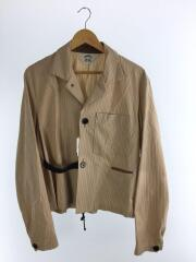 19S25/BUENA VISTA Stripe Jacke/テーラードジャケット/3/コットン/ストライプ
