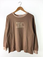 2020年モデル/600-0113018/ロングスリーブ/長袖Tシャツ/FREE/コットン/BRW/ロンT