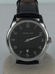 ハミルトン/腕時計/アナログ/レザー/ブラック/ジャズマスター/H385111/箱有