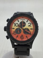 ニクソン/MINIMIZE/クォーツ腕時計/アナログ/ステンレス/ORN/BLK/THE 42-20 CHRON