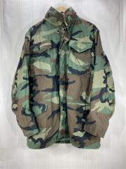 ジャケット/ミリタリー/S/コットン/カモフラ/M-65/フィールドウッドランカモ S/米軍