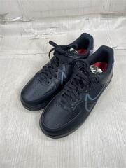 スニーカー/ローカット/26cm/ブラック/ビニール/AIR FORCE 1 REACT/CD4366-001