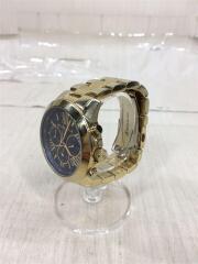 マイケルコース/クォーツ腕時計/アナログ/ステンレス/ネイビー/ゴールド/MK-5923