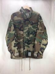 ジャケット/ミリタリー/L/コットン/カーキ/カモフラ/20AW/M-65/フィールドジャケット