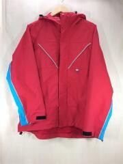 マウンテンパーカー/L/ナイロン/レッド/INTERBREED 3M Lined Tech Jacket