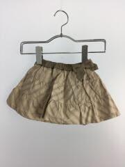 スカート/80cm/コットン/BEG/総柄
