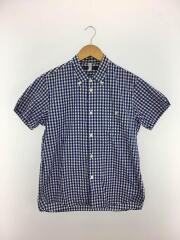 半袖シャツ/38/コットン/BLU/ギンガムCK