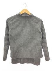 セーター(薄手)/1/ウール/GRY