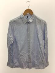 長袖シャツ/S/コットン/BLU/ストライプ/OAMN600131/striped shirt 463 LIGHT