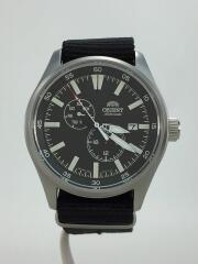 自動巻腕時計/SPORTS/アナログ/ブラック/RN-AK0404B