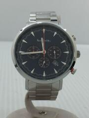 クォーツ腕時計/TRACK CHRONOGRAPH/アナログ/ステンレス/ネイビー/PS0070012