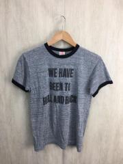 Tシャツ/M/ポリエステル/グレー