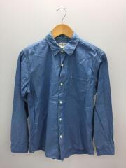 長袖シャツ/WORKERS DRESS SHIRT/2/コットン/ブルー/PMV-LS05