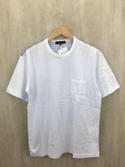 コムデギャルソンオム/Tシャツ/M/コットン/WHT/ホワイト