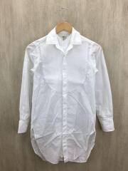 ピンタックレイヤードシャツ/36/コットン/WHT/ホワイト