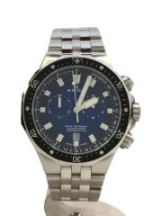 DELFIN/デルフィンクォーツ腕時計/アナログ/ステンレス/ネイビー/10109-3M-BUIN