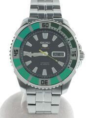 自動巻腕時計/アナログ/ステンレス/BLK/4R36-00S0/AUTOMATIC/5 SPORTS